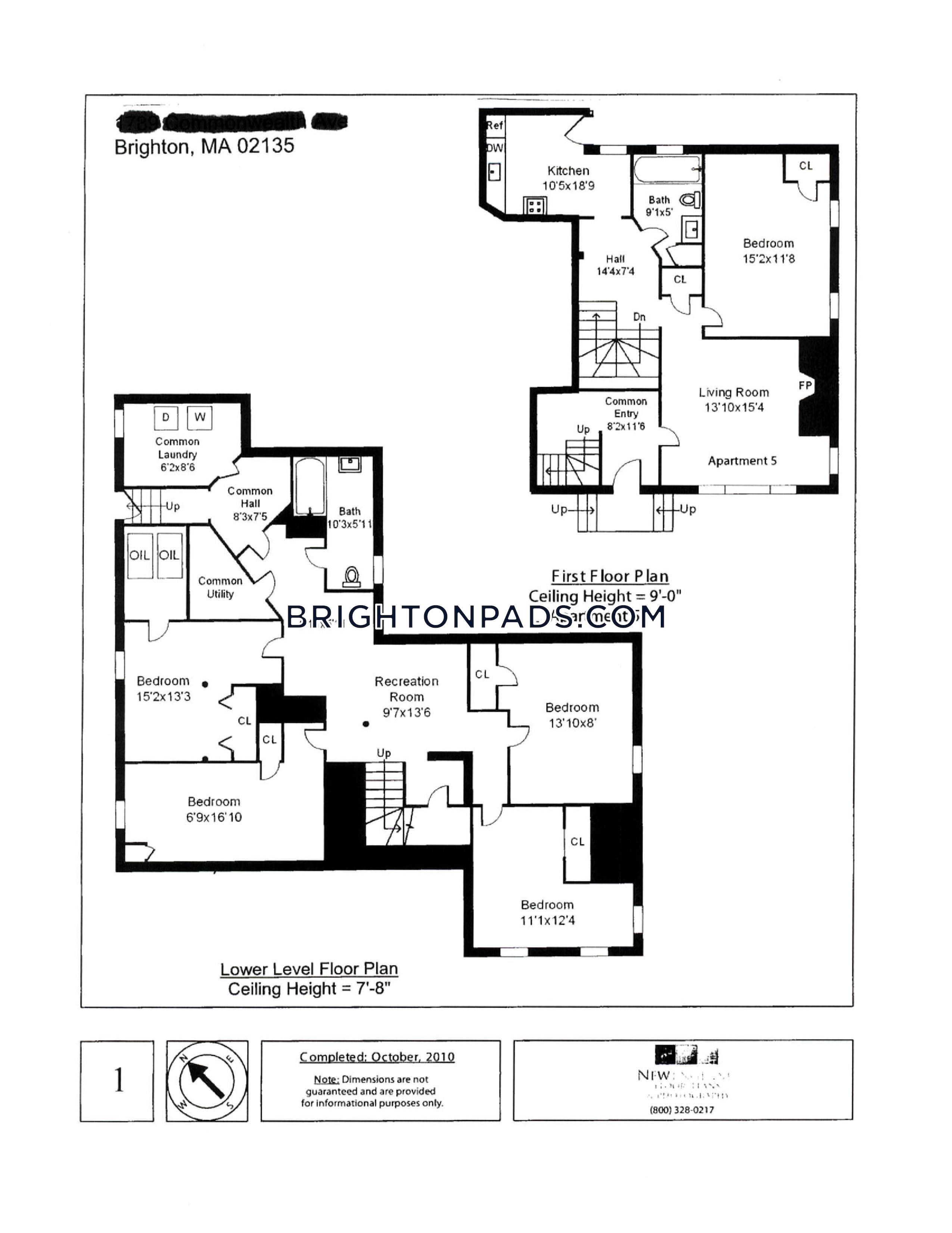 5-beds-2-baths-boston-brighton-cleveland-circle-4900-386450