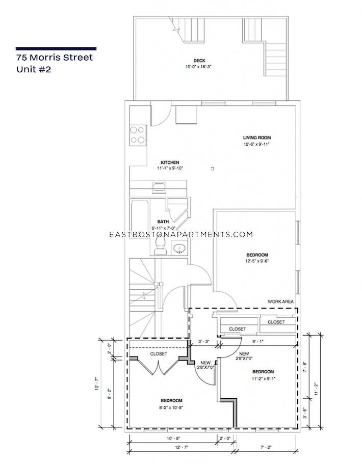 Morris St., BOSTON - EAST BOSTON - EAGLE HILL