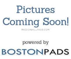 BOSTON - MISSION HILL, $3,600/mo