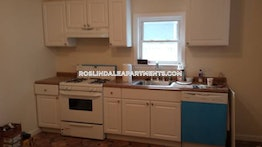 BOSTON - ROSLINDALE, $2,395 / month