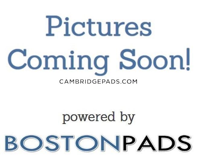 CAMBRIDGE- EAST CAMBRIDGE - $3,125 /mo