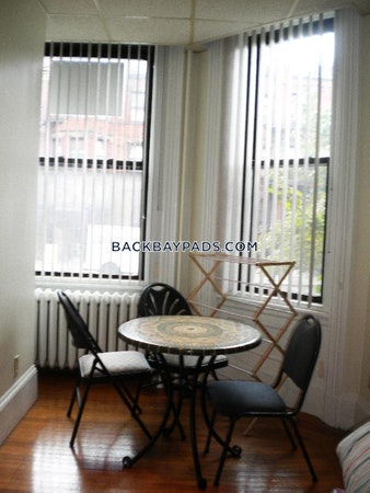Back Bay Apartment for rent Studio 1 Bath Boston - $1,795