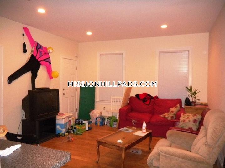 Boston - Mission Hill - 4 Beds, 1 Bath - $4,600