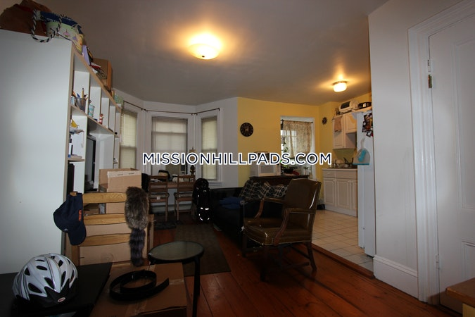 Mission Hill Apartment for rent 1 Bedroom 1 Bath Boston - $1,800