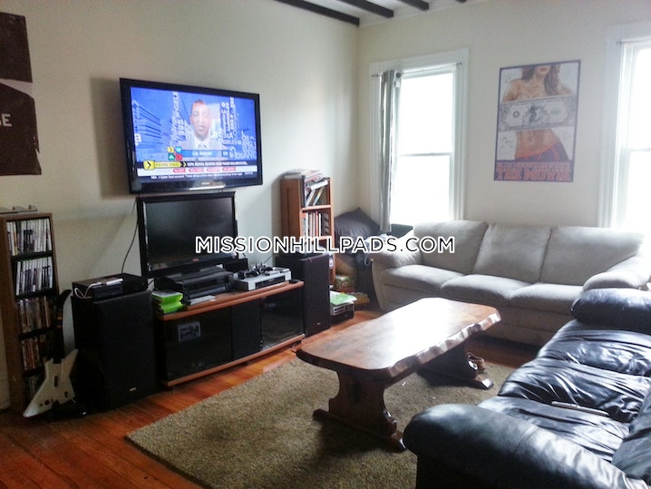 Boston - Mission Hill - 6 Beds, 2 Baths - $6,175