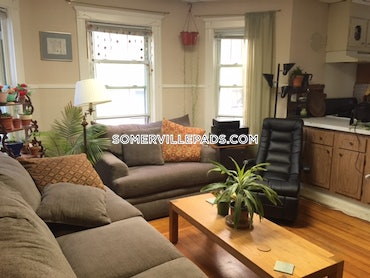 Porter Square, Somerville, MA - 4 Beds, 1 Bath - $2,500 - ID#3810352