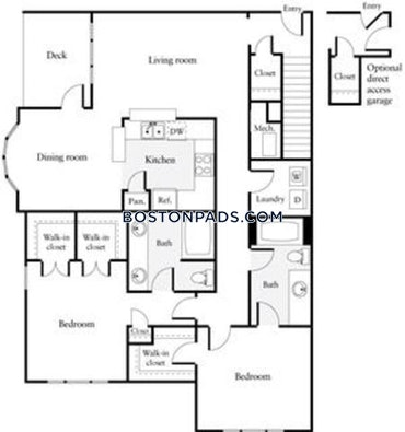 Waltham, MA - 3 Beds, 2.5 Baths - $3,091 - ID#2279906