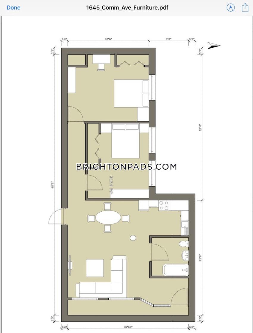 BOSTON - BRIGHTON- WASHINGTON ST./ ALLSTON ST. - 2 Beds, 1 Bath - Image 27