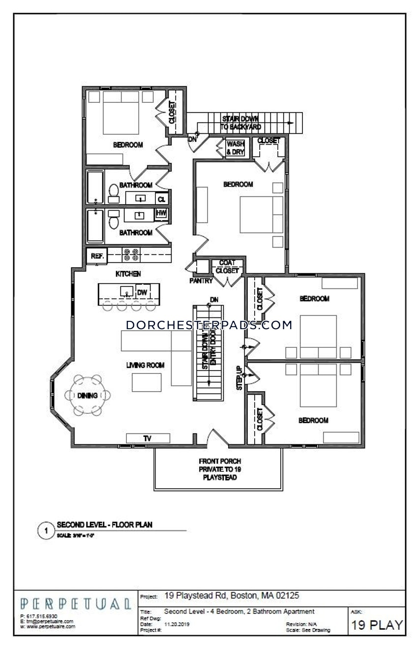BOSTON - DORCHESTER - SAVIN HILL - 4 Beds, 2 Baths - Image 20