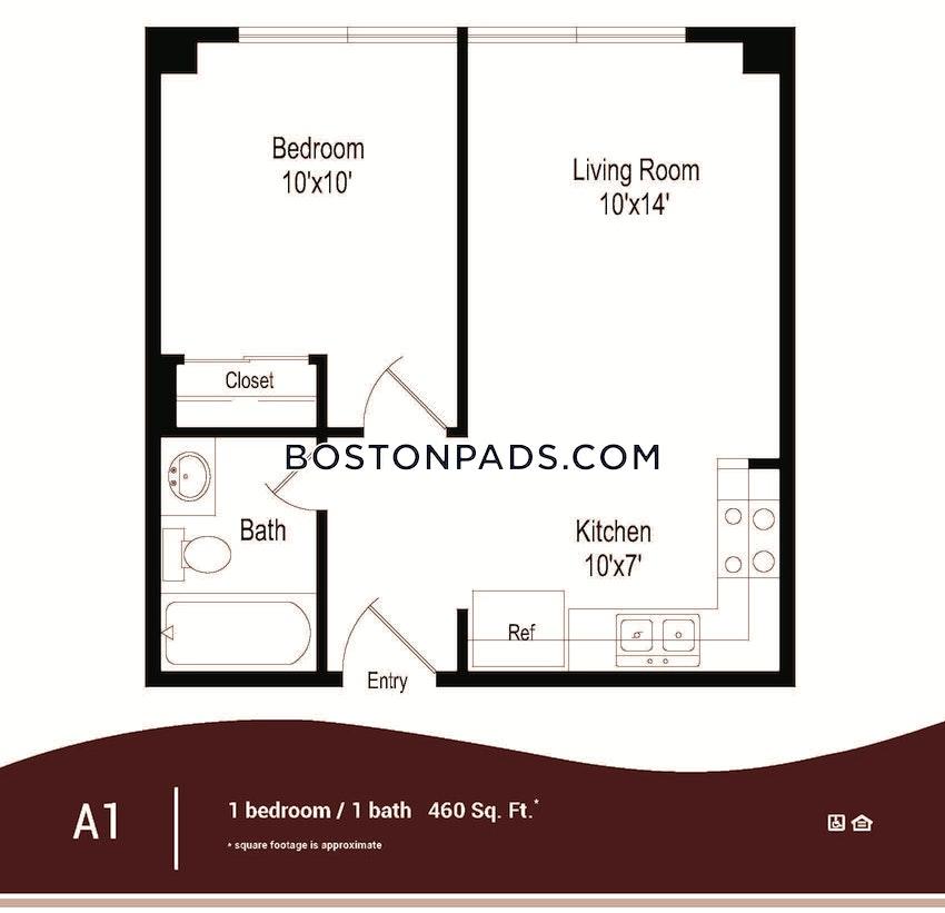 BOSTON - DOWNTOWN - 1 Bed, 1 Bath - Image 12
