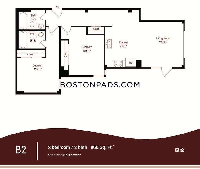 BOSTON - DOWNTOWN - 1 Bed, 1 Bath - Image 10