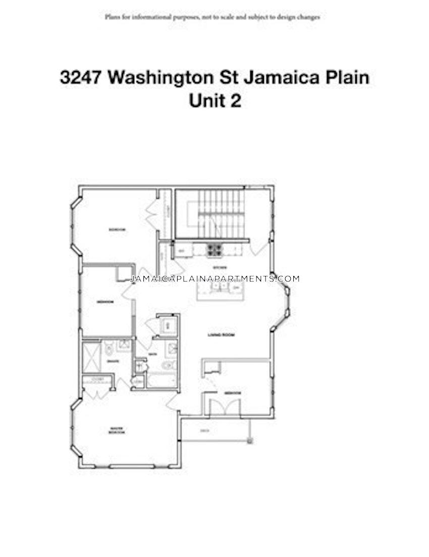 BOSTON - JAMAICA PLAIN - CENTER - 3 Beds, 2 Baths - Image 12