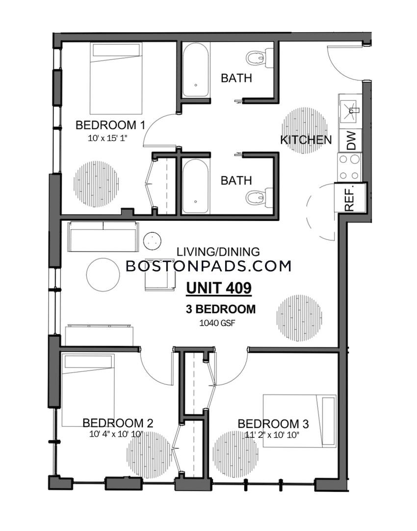 BOSTON - JAMAICA PLAIN - JAMAICA POND/PONDSIDE - 3 Beds, 2 Baths - Image 7