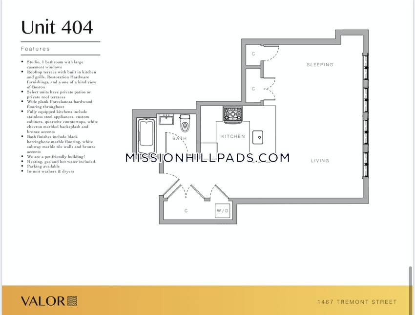 BOSTON - MISSION HILL - Studio , 1 Bath - Image 7