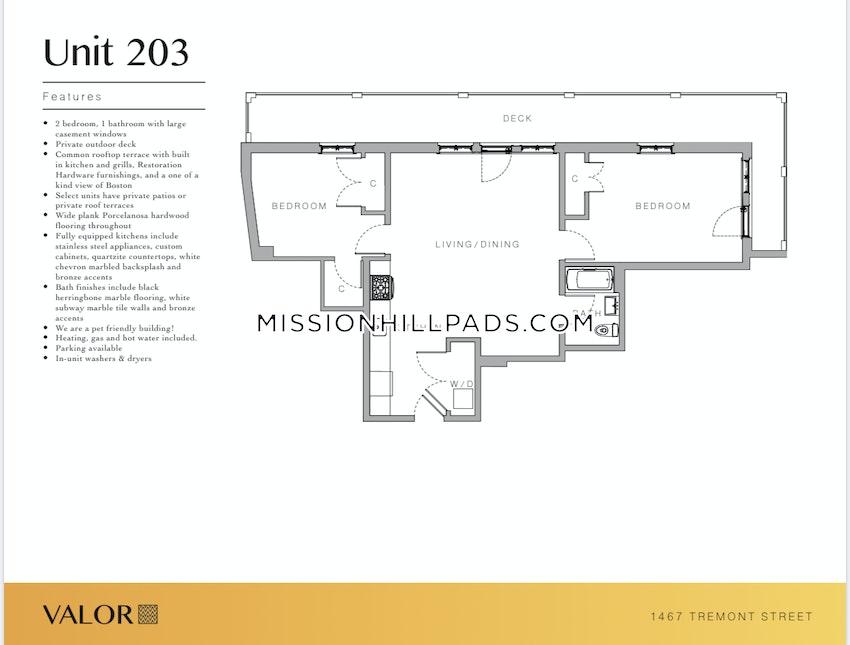 BOSTON - MISSION HILL - 2 Beds, 1 Bath - Image 5