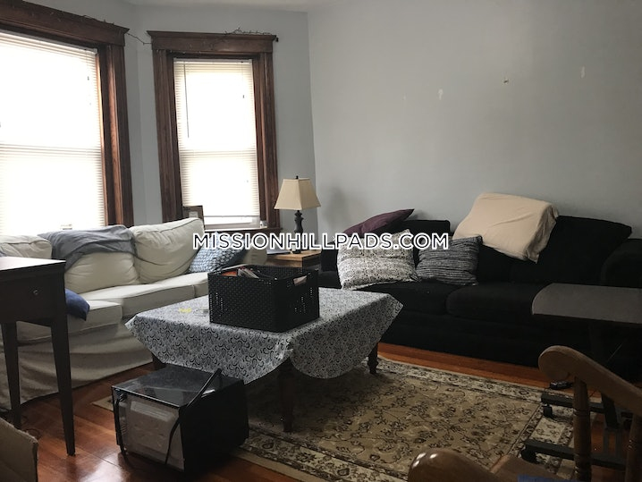 Boston - Mission Hill - 4 Beds, 1 Bath - $4,100