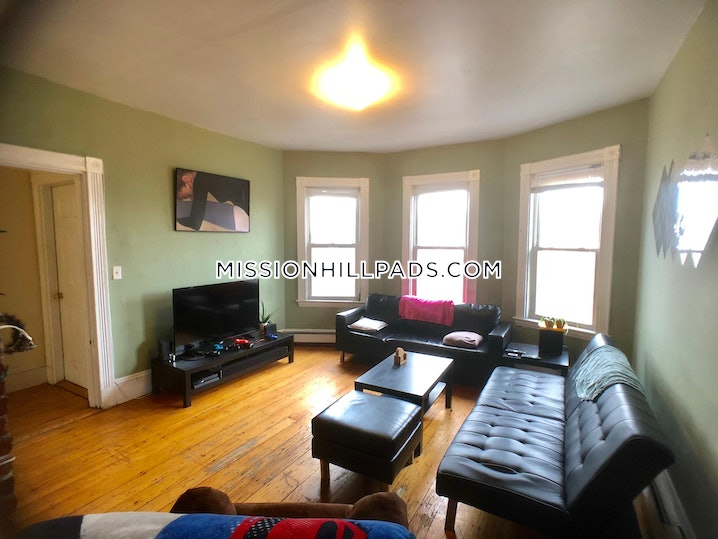 Boston - Mission Hill - 4 Beds, 2 Baths - $4,500