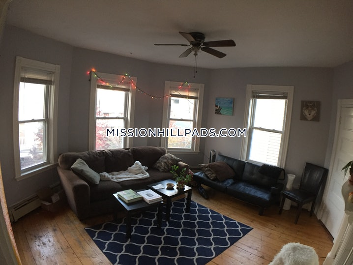Boston - Mission Hill - 5 Beds, 2 Baths - $4,800