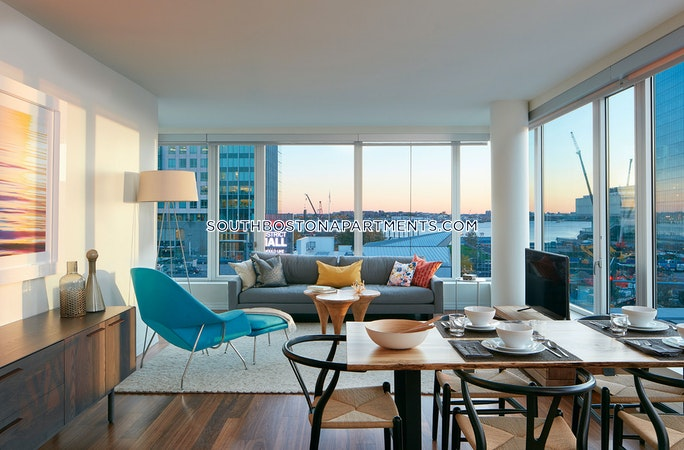 Seaport/waterfront Apartment for rent 2 Bedrooms 2 Baths Boston - $5,456