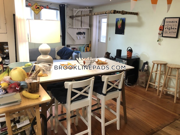 Brookline Apartment for rent 3 Bedrooms 1 Bath  Coolidge Corner - $3,300