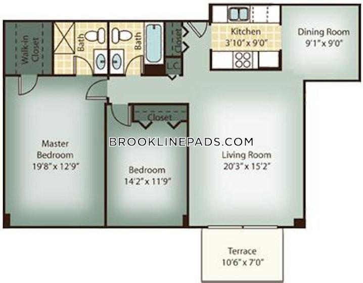 BROOKLINE- WASHINGTON SQUARE - 3 Beds, 2 Baths - Image 9