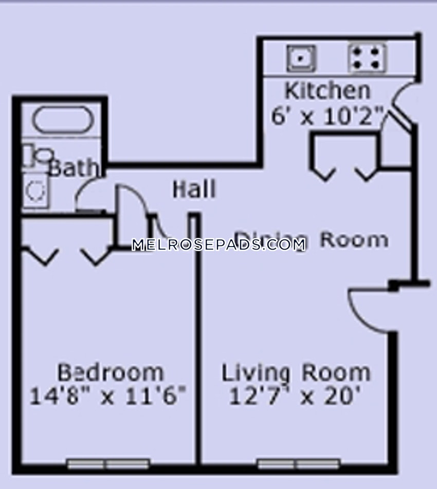 MELROSE - 1 Bed, 1 Bath - Image 7