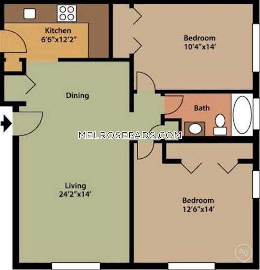 MELROSE - 2 Beds, 1 Bath - Image 9