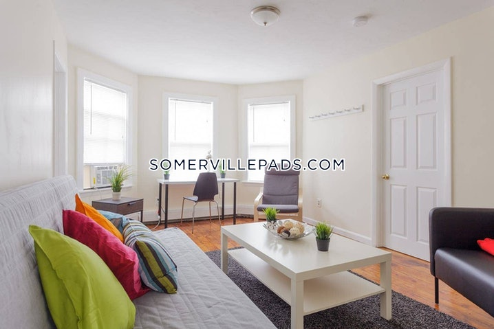 Somerville - Union Square - 3 Beds, 1 Bath - $3,000