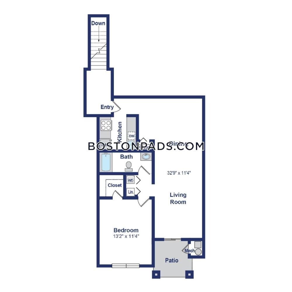 Apartments For Rent Arlington Ma: Waltham Apartment For Rent 1 Bedroom 1 Bath